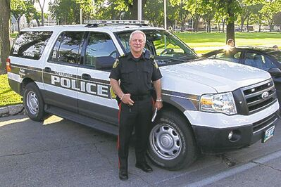 Winnipeg police Sgt. Russ Heslop attended Collector Car Appreciation Day, 'We are not out to ruin anyone's fun...""