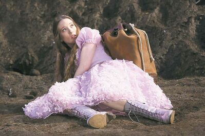 Sophie Lowe in a scene from Once Upon a Time in Wonderland.