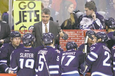 John Woods / the canadian press archivesWinnipeg Jets coach Claude Noel is not one to shy away from giving a pep talk.
