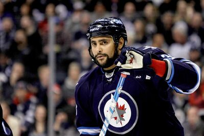 'It's going to be a hard battle and we'll wade through (it),' Dustin Byfuglien said this morning