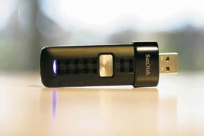 The SanDisk Corp. Connect Wireless Flash Drive costs $50 for a version with a 16-gigabyte card  enough for seven or so standard-definition movies  and $60 for 32 GB.
