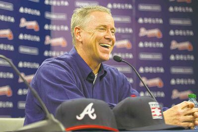 Tom Glavine was thrilled to learn he had been elected to baseball's Hall of Fame Wednesday, with former teammate Greg Maddux.