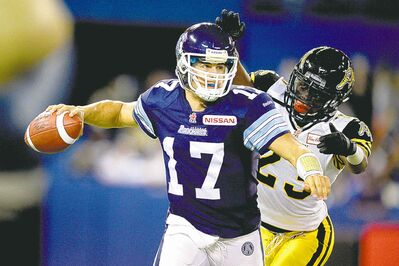 Zach Collaros will be in demand when CFL free agency opens Feb. 15.