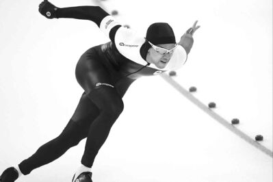 Canada's Gilmore Junio gave up his spot in the 1,000-metre speedskating race to teammate Denny Morrison, who won silver at the Games.