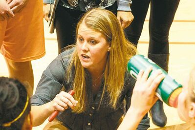 New Bisons women's basketball coach Michele Hynes has her work cut out for her.