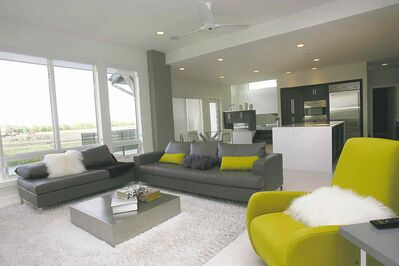 An Artista Home at 47 Borealis Bay in Sage Creek. Main Floor. Todd Lewys  story.Wayne Glowacki / Winnipeg Free Press June 9 2014