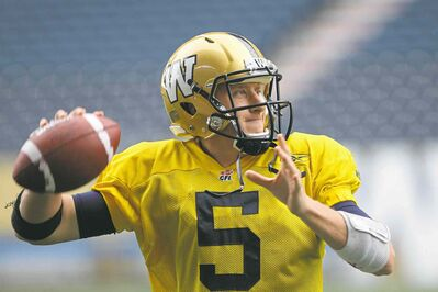 It's been all Willy and no won't he for Bombers QB Drew Willy, who will lead the troops into battle against the Redblacks Thursday.