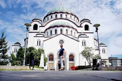 St. Sava Cathedral in Belgrade is the largest Christian Orthodox church in the world.