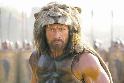 Paramount PicturesAs Hercules, Dwayne Johnson nails the feats of strength so well, we can skip the airing  of the  grievances.