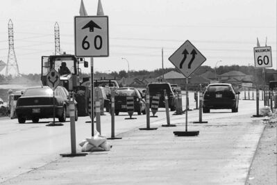 KEN GIGLIOTTI / WINNIPEG FREE PRESS filesDue to an administrative error, about 2,500 tickets issued in a construction zone on Kenaston Boulevard will be refunded to drivers.