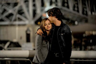 Chloë Grace Moretz and Jamie Blackley star as Mia and Adam in If I Stay.