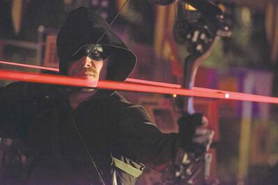 Diyah Pera / The CW Stephen Amell as Oliver Queen in Arrow.