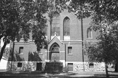 Mikaela MacKenzie / Winnipeg Free Press files St. Giles church, which now sits empty, was built in 1908.