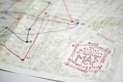 Suzie Smith and Kristin Nelson's Daniel McIntyre/St. Matthews Map of Interesting Places