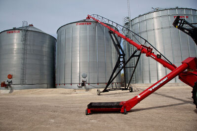 Ag Growth manufactures grain augers.