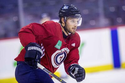 Defenceman Ben Chiarot brings a physical edge to the Jets' defensive corps.