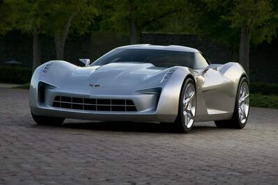 This new Corvette concept card should be one of the highlights of the Detroit Auto Show.