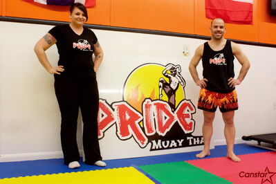 Charleen and Wayne Pokornik have been happy with the response since opening PRIDE Muay Thai in Transcona last year.