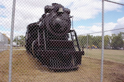 The restored 2747 locomotive, located at Rotary Heritage Park, is shown. The Winnipeg Transcona Rotary Club has announced plans to help shelter the train.