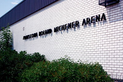 The process of decommissioning Roland Michener Arena has begun.