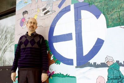 École Centrale principal Sid Shapira is also working to organize plans for the school's centennial.