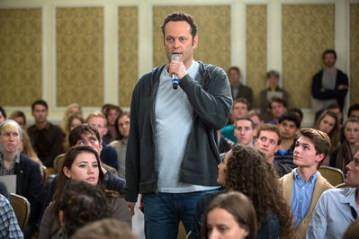 Vince Vaughn in Delivery Man.