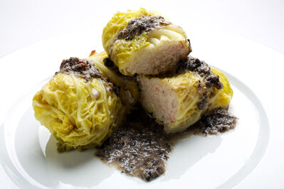 Cabbage rolls are among the many popular Polish dishes that get a modern touch.