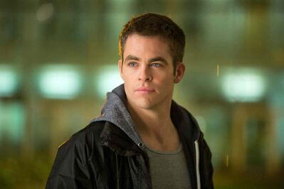 "Chris Pine in ""Jack Ryan: Shadow Recruit."" Pine is the fourth actor to play Tom Clancy's fictional CIA agent."