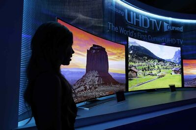 Sales of TVs and other consumer electronics are expected to grow this year -- but not at the rate they have in the past.