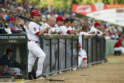 The Winnipeg Goldeyes lost 4-1 to the St. Paul Saints at Shaw Park Saturday night.