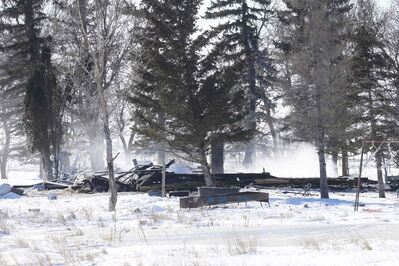 A house fire near Kane, Man., proved fatal for four children