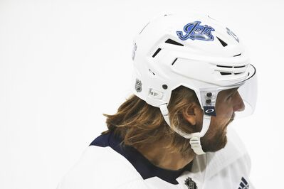 Winnipeg Jets captain Blake Wheeler was one of the first NHL players to speak out against police violence after the killing of George Floyd by police officers in his home state of Minnesota. THE CANADIAN PRESS/John Woods