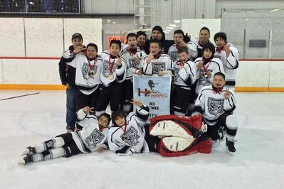 The Norquay Knights won the 12A3 peewee division city championship.