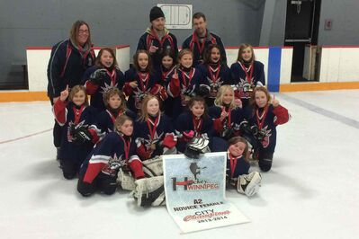 Garden City won the female novice A2 division city championship.