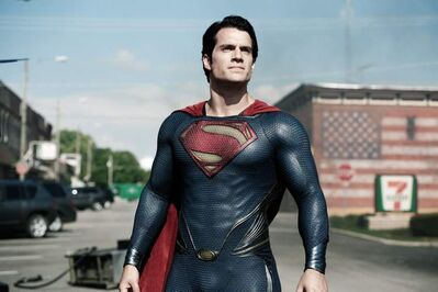 Henry Cavill as Superman in 'Man of Steel.'