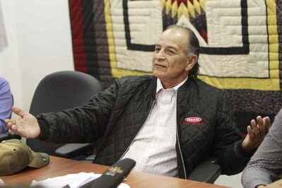Former SCO grand chief Murray Clearsky says a federal government audit that uncovered $261,000 in problematic expenses paid to senior  officials is part of a politically motivated witch hunt.