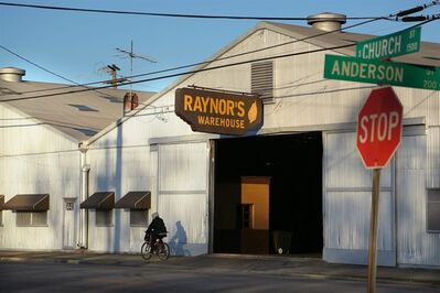 """In this photo taken Friday, March 8, 2013, a tobacco warehouse owned by Roy Johnson Raynor is shown at 1441 S. Church Street in Rocky Mount, N.C. Raynor is one of 41 people who have either pleaded guilty or reached plea agreements after profiting from false insurance claims for losses of tobacco, soybeans, wheat and corn. Prosecutors say bulk tobacco supposedly destroyed by bad weather and pests was secretly sold under false by several brokers in eastern North Carolina, part of a massive crop insurance fraud conspiracy prosecutors say cost the government-backed program $100 million in false claims. Raynor pleaded guilty in 2010 to conspiring to make a false statement, making a material false statement and committing mail and wire fraud. He was sentenced to one year in federal prison for brokering $1.4 million in deals for the """"hidden"""" tobacco. (AP Photo/Ted Richardson)"""