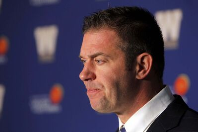 Blue Bombers GM Kyle Walters had the tough task of cutting the roster down from 90 players.</p>