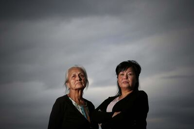 JOHN WOODS / WINNIPEG FREE PRESS</p><p>Above: Wendy Bird (left) and Melanie Hart, Tara Hart&rsquo;s mother and sister, allege Wab Kinew continues to lie about assaults on Tara 14 years ago.</p></p>