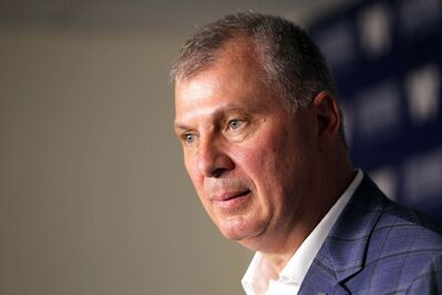 CFL commissioner Randy Ambrosie.  (Boris Minkevich / Free Press files)