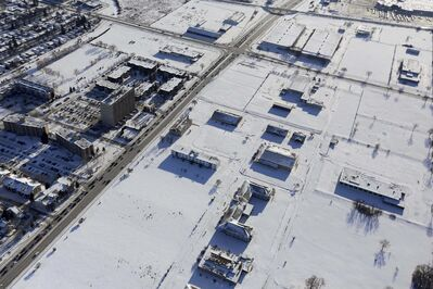 The property at Kapyong Barracks, situated on the edge of Tuxedo at the corner of Grant Avenue and Kenaston Boulevard, is worth millions. TREVOR HAGAN / WINNIPEG FREE PRESS