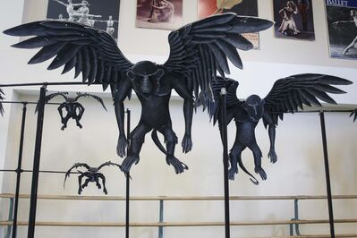 MIKE DEAL / WINNIPEG FREE PRESS</p><p>The flying monkey puppets just before they were packed up to be transported to the Centennial Concert Hall for the RWB production.</p>