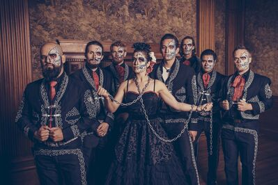 The Mariachi Ghost will unveil its new album at the Planetarium on Nov. 2. (Supplied)</p></p>
