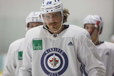 Winnipeg Jets captain Blake Wheeler has been move off of the team's top line and will now centre the second line between Nik Ehlers and Jack Roslovic.