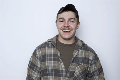 "FILE - This Jan. 2, 2013 file photo shows Shain Gandee, from MTV's ""Buckwild"" reality series in New York. Gandee was found dead Monday, April 1, in a sport utility vehicle in a ditch along with his uncle and a third, unidentified person, authorities said. (Photo by Amy Sussman/Invision/AP, file)"