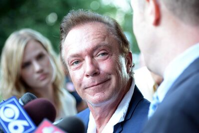 Seventies heartthob David Cassidy leaves town court in Schodack, N.Y., on Wednesday, Sept. 3, 2014. Cassidy pleaded guilty to a misdemeanor charge of driving while intoxicated in upstate New York. (AP Photo/The Daily Gazette, Patrick Dodson) TROY, SCHENECTADY; SARATOGA SPRINGS; ALBANY AND AMSTERDAM OUT