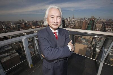 "Professor Michio Kaku is shown in a handout photo. Maybe those science-fiction scenarios about killer robots from space invading the Earth aren't so far-fetched after all. Aliens bearing little resemblance to Steven Spielberg's cuddly ""ET"" might actually eye Earth for its potential slaves and to plunder its natural resources, say scientists interviewed in ""Aliens: The Definitive Guide,"" a new documentary being broadcast Sunday on Discovery Canada. THE CANADIAN PRESS/HO-Freddie Claire, Arrow Media , Handel Productions"