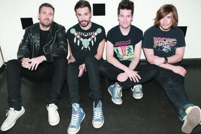 Bastille, the most-streamed act in the U.K., is set to perform to a sold-out crowd Wednesday night at the Garrick Centre.