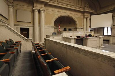 A Court of Queen's Bench judge is deciding whether to make the Manitoba Prosecutions Service (MPS) pay tens of thousands in legal costs to a man whom she recently acquitted of second-degree murder due to lack of evidence.