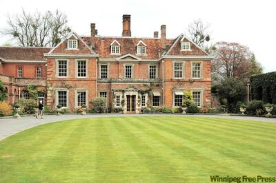 The stately Lainston House Hotel sits on 25 hectares of gardens near Winchester.